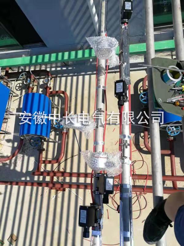 定远新材料有限公司管道电伴热保温